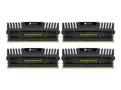 Vengeance - DDR3 - 32 Go : 4 x 8 Go - DIMM 240 broches