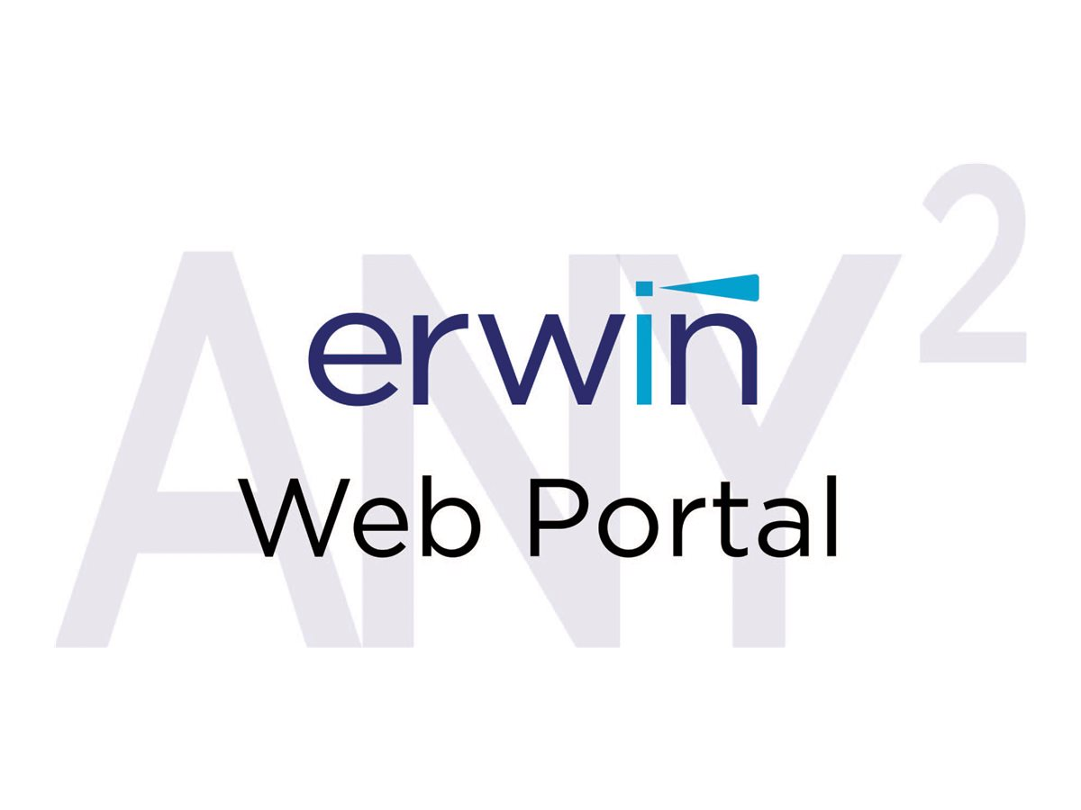 erwin Web Portal - license + 1 Year Enterprise Maintenance - 1 concurrent user