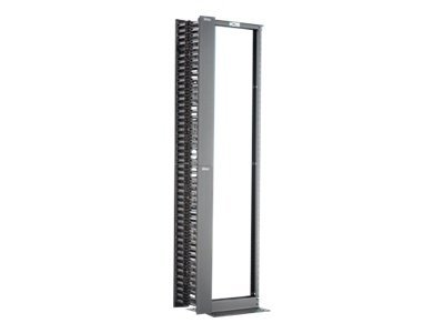 Panduit 2 Post Rack and Vertical Manager Combination Pack rack - 45U