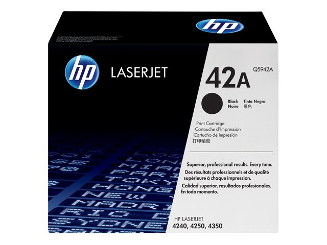 HP Q5942A Black Print Cartridge 4250/4350 Series