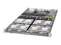 Supermicro SuperServer 6018R-TD8 Server rack-mountable 1U 2-way RAM 0 GB SATA