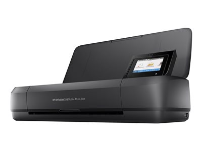 HP Officejet 250 Mobile All-in-One Multifunction printer color ink-jet  image