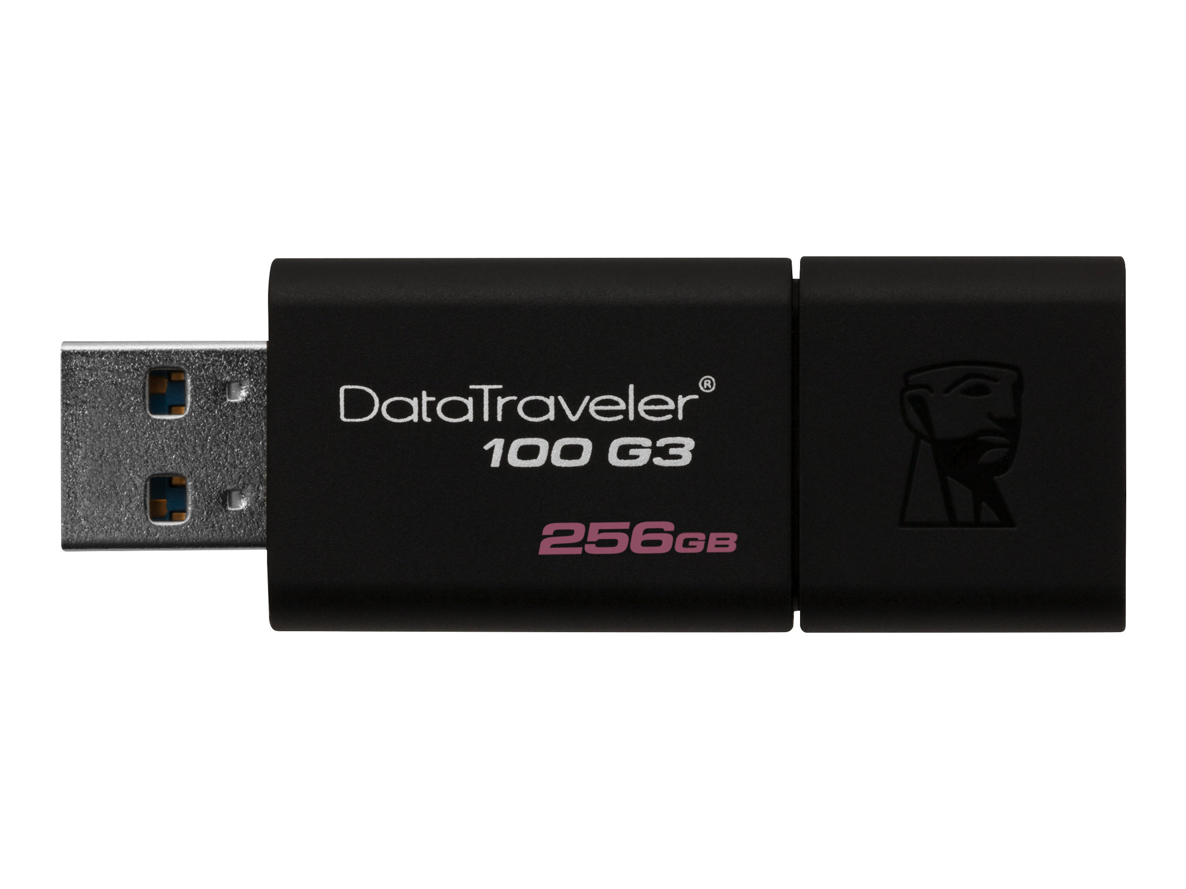 Kingston DataTraveler 100 G3 - USB flash drive - 256 GB