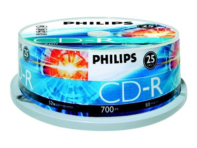 Philips 25x CD-R 700MB