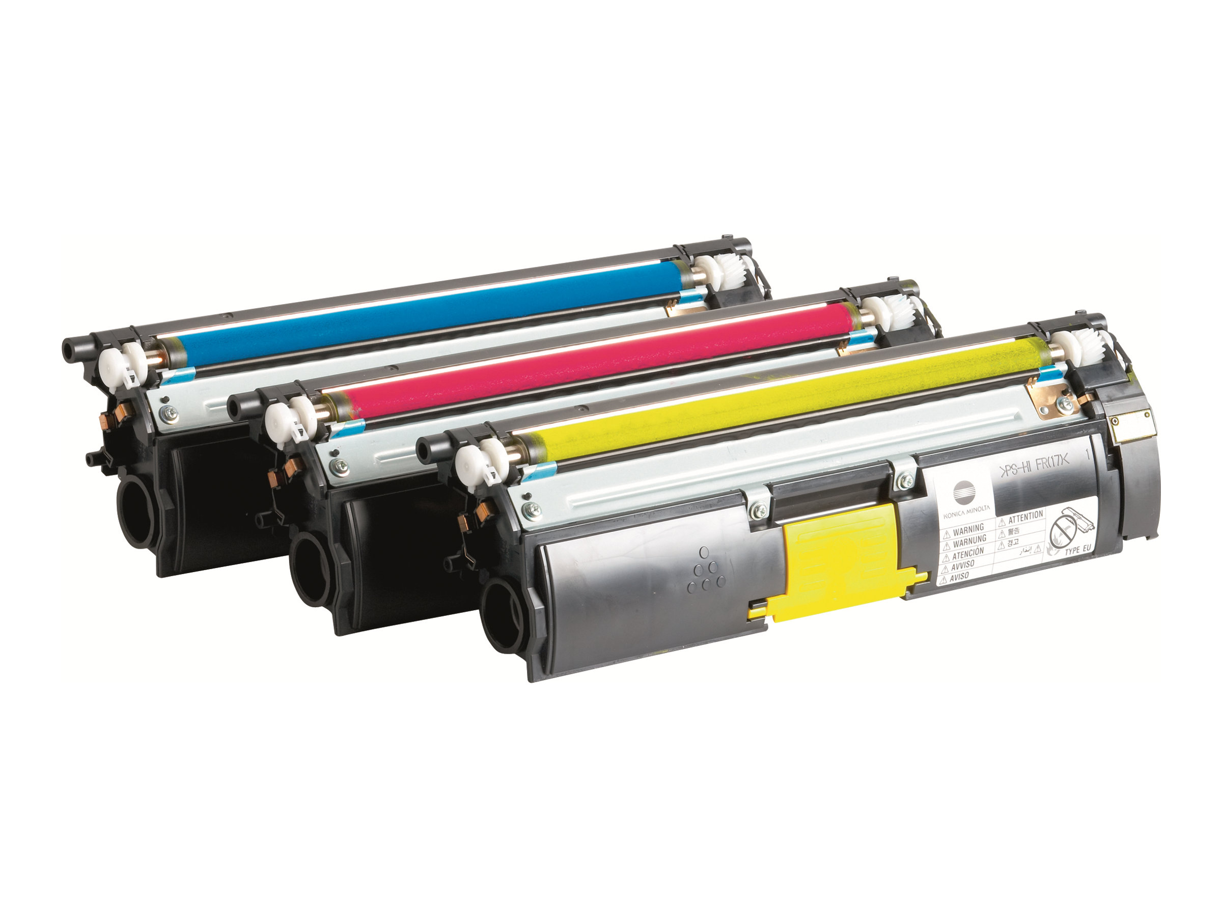 Konica Minolta Toner Value Kit - 3-pack - High Capacity - yellow, cyan, magenta - original - toner cartridge