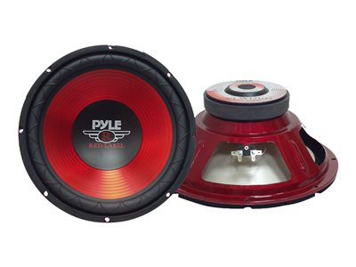 PYLE Red Label Series PLW10RD Subwoofer driver 10INCH red