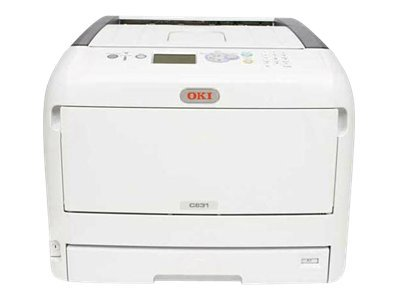 OKI C831n Printer color LED A3/Ledger 1200 x 600 dpi