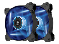Corsair Air Series LED SP120 High Static Pressure - Case fan - 120 mm - blue (pack of 2 )