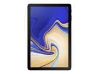 "Samsung Galaxy Tab S4 - Tablette - Android - 64 Go - 10.5"" Super AMOLED (2560 x 1600) - hôte USB - Logement microSD - noir"