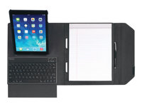 Fellowes MobilePro Series Deluxe mini Folio Flip cover for tablet ballistic nylon black