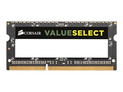 Value Select - DDR3 - 8 GB : 2 x 4 GB - SO DIMM 204-pin