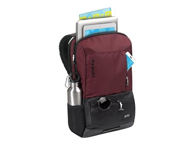 SOLO Varsity Collection Draft Backpack Notebook carrying backpack 15.6INCH burgundy