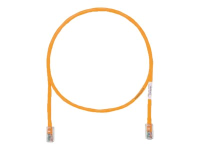 Panduit TX5e patch cable - 18.3 m - orange