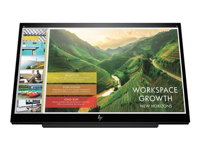 HP EliteDisplay S14 LED monitor 14INCH portable 1920 x 1080 Full HD (1080p) IPS