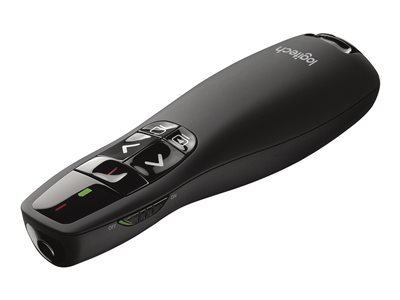 Logitech Wireless Presenter R400 Presentation remote control RF