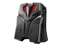 MSI VR ONE 6RD 007US Backpack PC 1 x Core i7 6820HK / 2.7 GHz RAM 16 GB SSD 256 GB NVMe