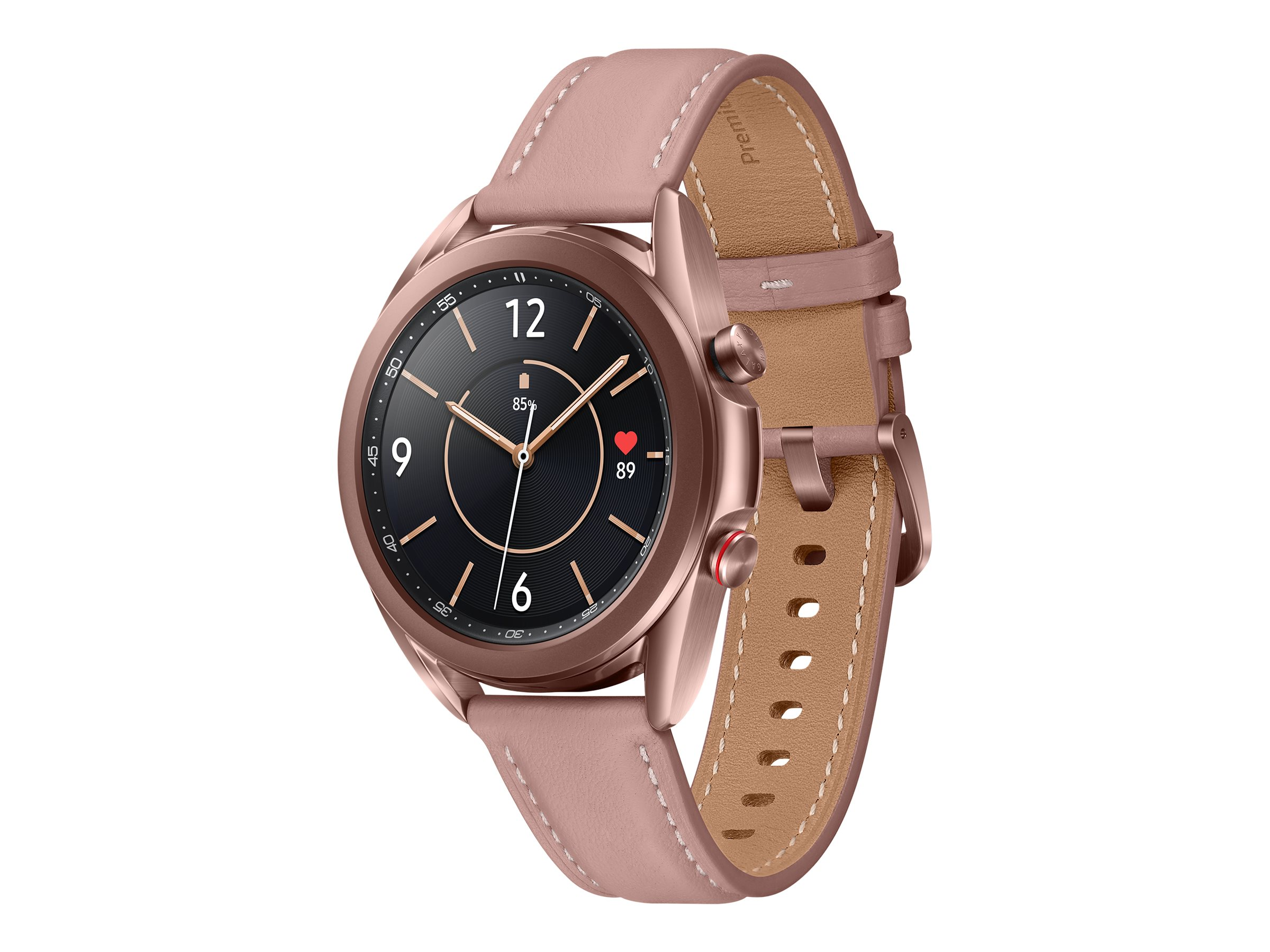Samsung Galaxy Watch 3 - mystic bronze - smart watch with band - 8 GB - not specified
