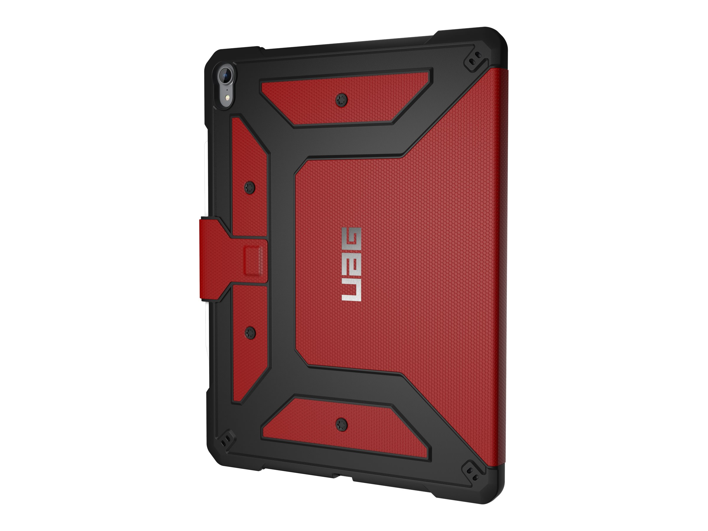 UAG Rugged Case for iPad Pro 12.9-inch (3rd Gen, 2018) - Metropolis Magma - flip cover for tablet