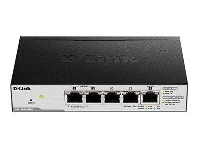 Smart Managed Switch DGS-1100-05PD - commutateur - 5 ports - intelligent
