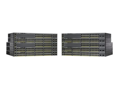 equal2new CISCO CATALYST 2960-X 24 PORT POE+ 4 SFP LAN BASE 370W