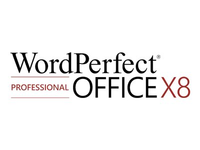 WordPerfect Office X8 Professional Edition License 1 user academic ESD Win