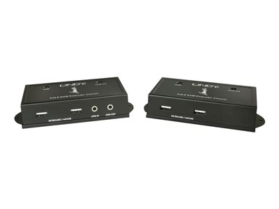 LINDY CAT6 HDMI & USB KVM Extender - KVM / audio extender - USB - up to 50 m