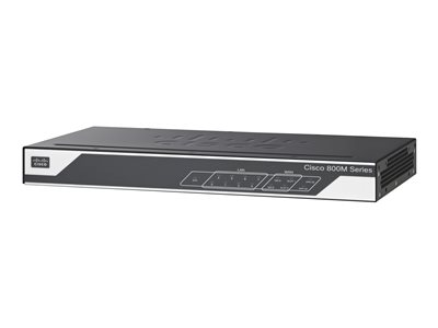 Cisco 841M Router 8-port switch GigE, PPP WAN ports: 2 rac