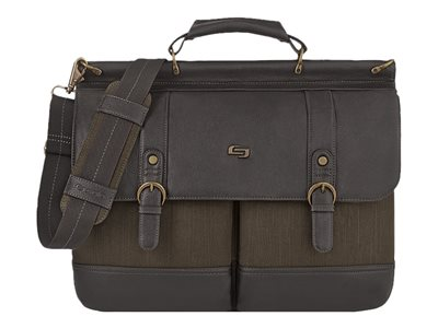 SOLO Executive Collection Bradford 15.6INCH Briefcase Notebook carrying case 15.6INCH black