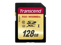 Transcend Ultimate - Flash-Speicherkarte - 128 GB - UHS Class 3 - SDXC UHS-I