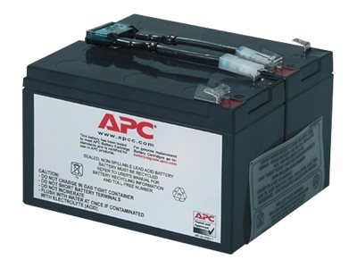 APC Replacement Battery Cartridge #9 - USV-Akku Bleisäure - Schwarz - für P/N: SU700RM, SU700RMNET