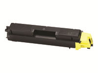 Kyocera TK 590Y - Yellow - original - toner cartridge - for Kyocera FS-C2026, FS-C2126; ECOSYS M6023, M6026, M6526, P6026; FS-C5250