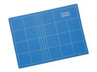 Dahle Vantage Cutting mat 17.7 in x 23.6 in x 0.12 in blue PVC