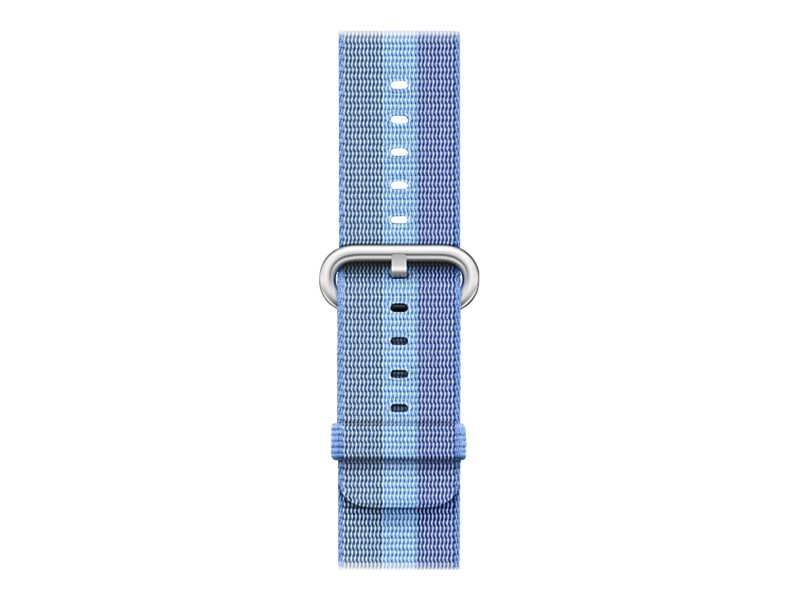 Apple 38mm Woven Nylon Band - Uhrarmband - 125 - 195 mm - Tahoe blau - für Watch (38 mm)