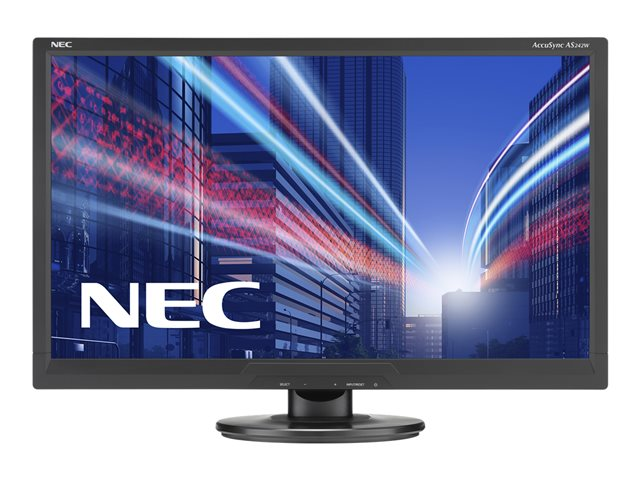 NEC AccuSync AS242W-BK