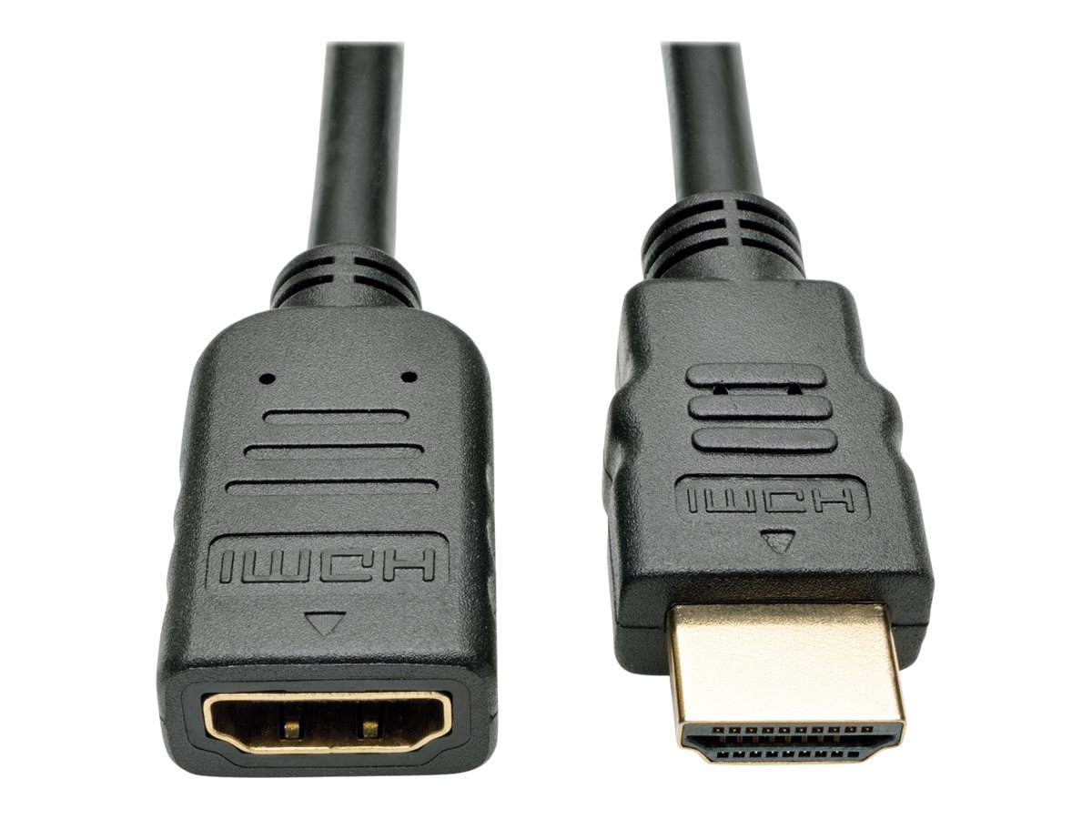 Tripp Lite 6ft High Speed HDMI Extension Cable with Ethernet Digital Video / Audio 4K x 2K M/F 6' - HDMI with Ethernet …