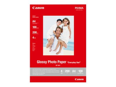 Canon GP 501 Fotopapir 100 x 150 mm 100ark