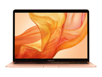 "Apple MacBook Air with Retina display - Core i5 1.6 GHz - Apple macOS Mojave 10.14 - 8 Go RAM - 256 Go SSD - 13.3"" IPS 2560 x 1600 (WQXGA) - UHD Graphics 617 - Wi-Fi, Bluetooth - or - kbd : AZERTY"