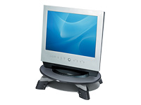 Fellowes LCD Monitor Riser - Stand for flat panel - grey, translucent graphite