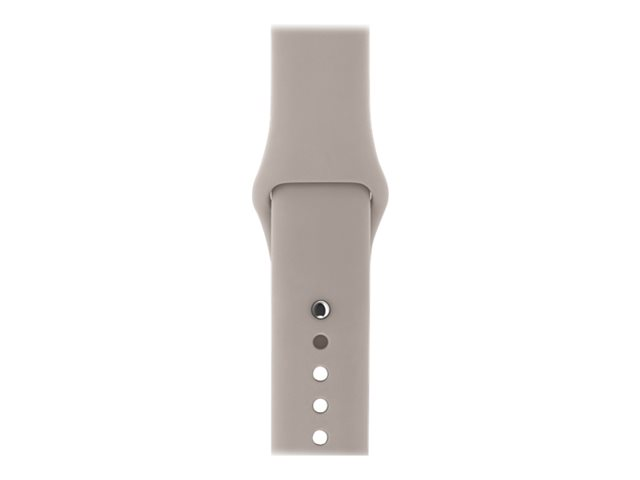 Apple 38mm Sport Band - Bracelet de montre - taille P/M/L - gris perle - pour Watch (38 mm)