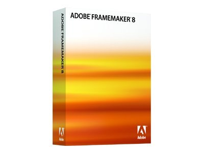 Adobe FrameMaker Shared ( v. 8 ) - bokspakke (oppgradering)