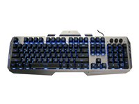 Kaliber Gaming by IOGEAR HVER Aluminum Gaming Keyboard Keyboard backlit USB blac