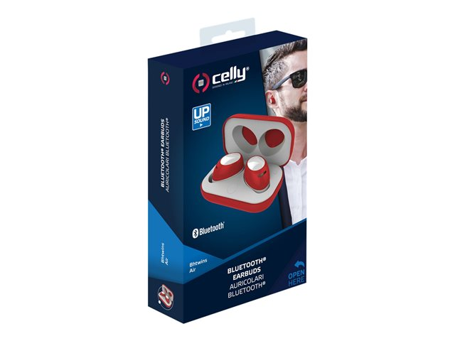 Celly Bh Twins Air - auriculares inalámbricos con micro