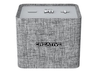 Creative NUNO micro Speaker for portable use wireless Bluetooth heather gray