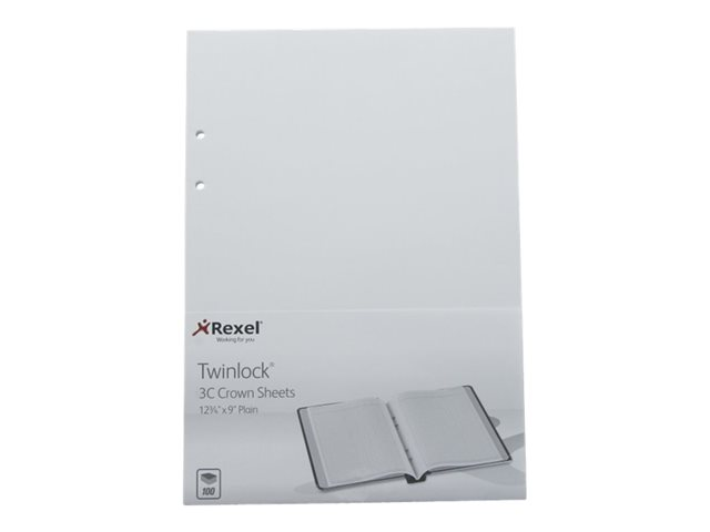 Image of ACCO Twinlock Crown 3C Plain - loose-leaf accounting system refill