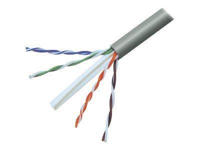Belkin bulk cable - 152.4 m - gray