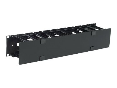 APC rack cable management panel with cover - 2U