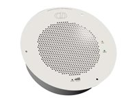 CyberData IP speaker Ethernet, Fast Ethernet, PoE RAL 9002, gray white