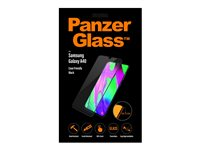 PanzerGlass Case Friendly sort, Krystalklar for Samsung Galaxy A40