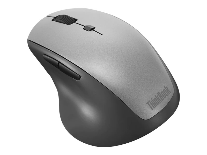 Lenovo ThinkBook Wireless Media - mouse - 2.4 GHz - black
