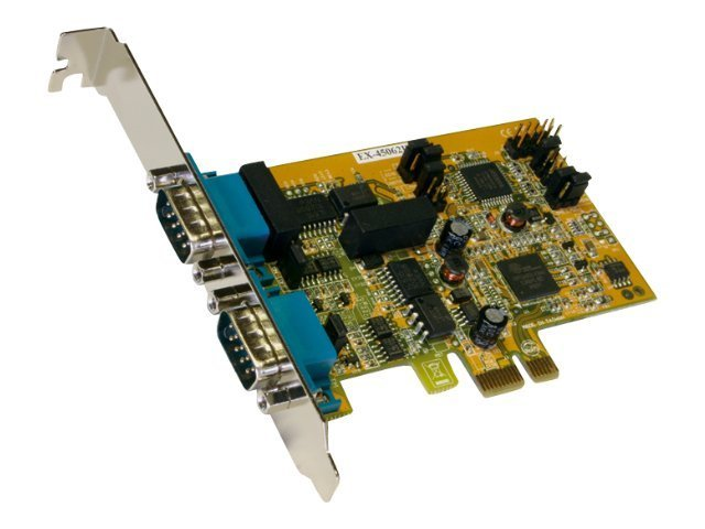 Exsys EX-45062IS - Serieller Adapter - PCIe - RS-422/485 x 2
